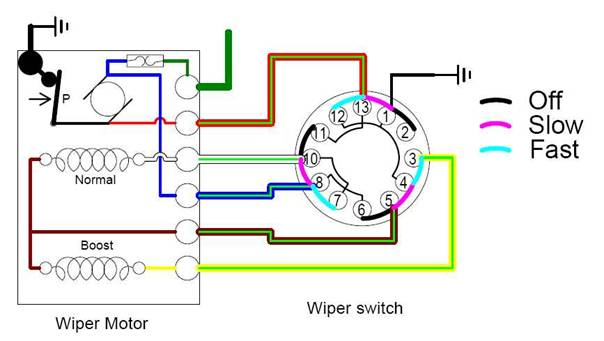 Sabra 20Wiper 20Motor on 68 corvette wiring diagram